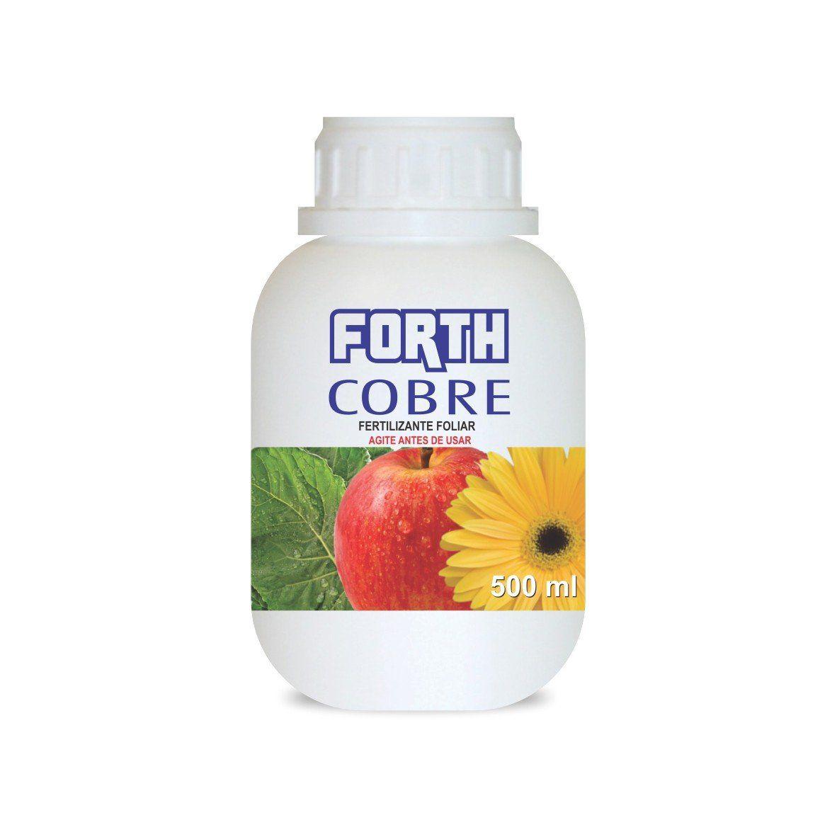 Adubo Fertilizante para Agricultura - FORTH COBRE - 500ml