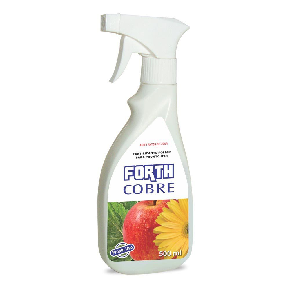 Adubo Fertilizante para Agricultura FORTH COBRE - 500ml - Pronto Uso
