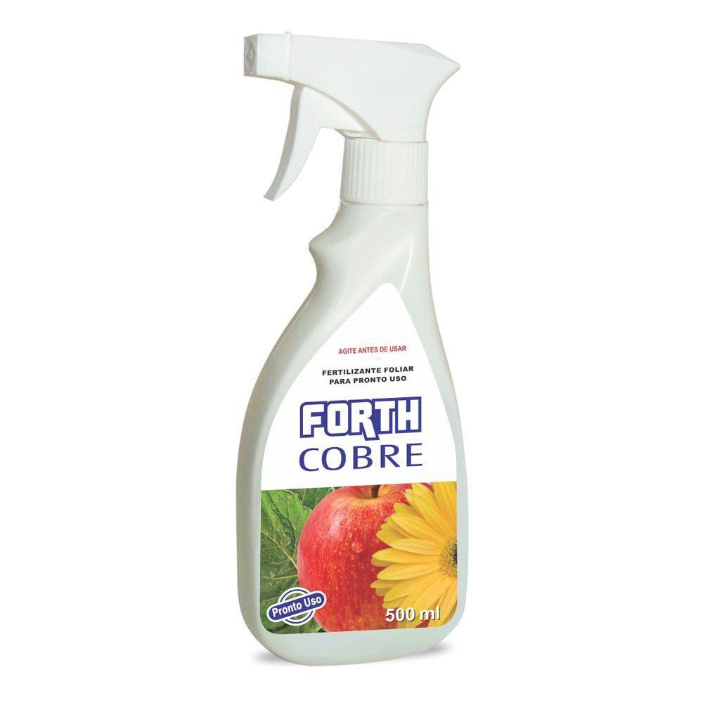 Adubo Fertilizante para Agricultura FORTH COBRE - 500ml - Pronto Uso