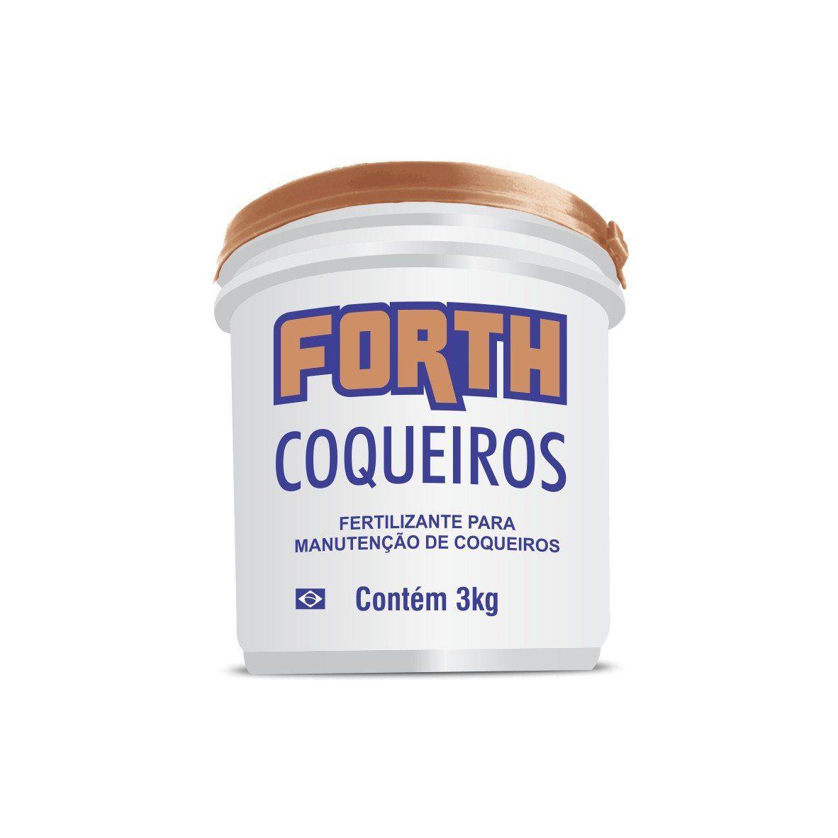 Adubo Fertilizante para Coqueiros - FORTH Coqueiros - 3kg