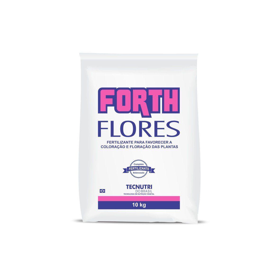Adubo Fertilizante para Flores - FORTH Flores - 10 kg