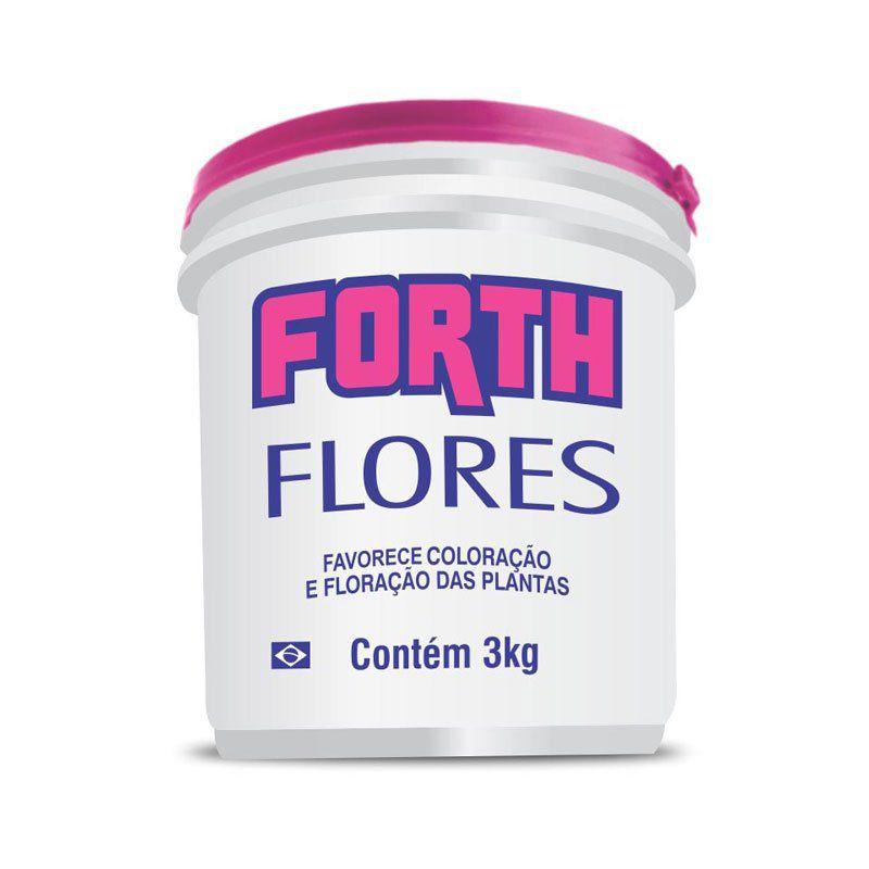 Adubo Fertilizante para Flores - FORTH Flores - 3 kg