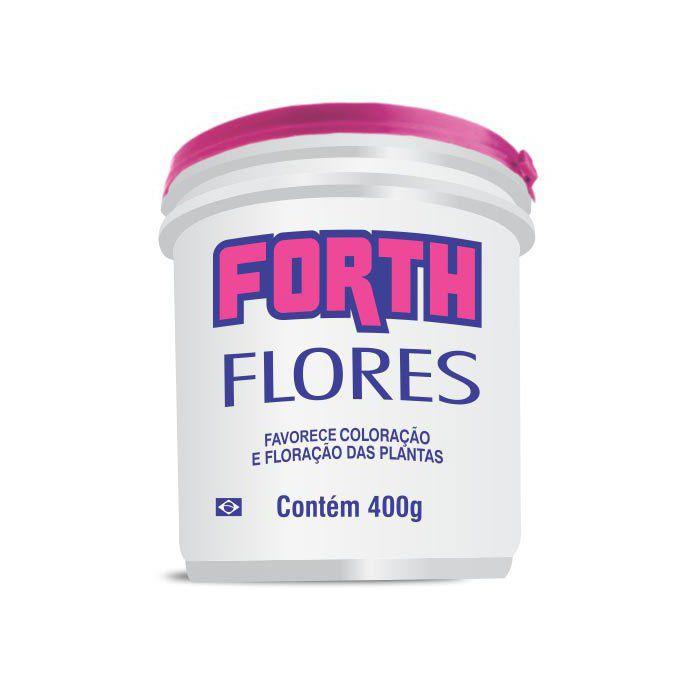 Adubo Fertilizante para Flores  - FORTH Flores - 400g