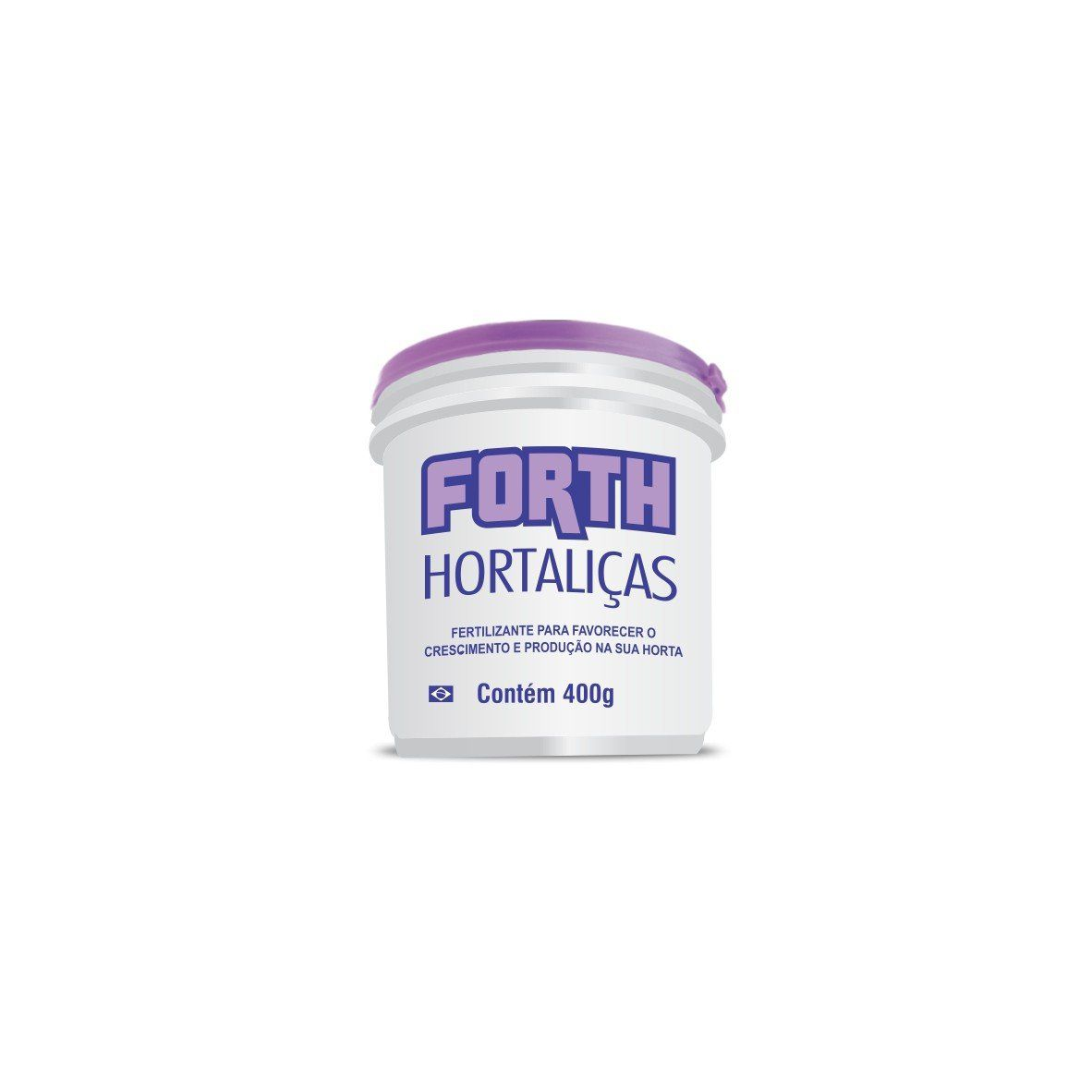 Adubo Fertilizante para Hortaliças - FORTH Hortaliças - 400g