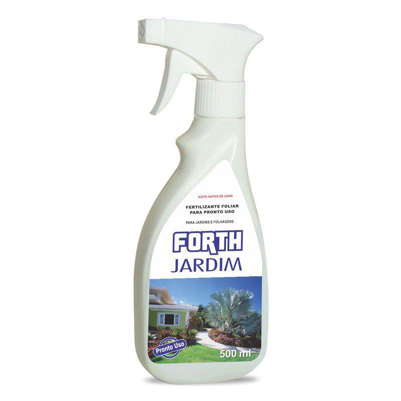 Adubo Fertilizante para Jardins e Gramados - FORTH Jardim - 500ml - Pronto Uso