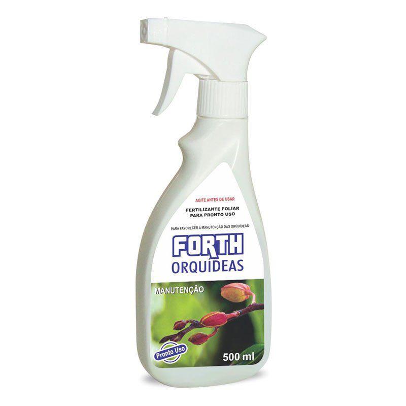 Adubo Fertilizante para Manutenção de Orquídeas - FORTH Orquídeas - 500ml - Pronto Uso