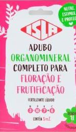 Adubo Organomineral Completo Para Floração e Frutificação