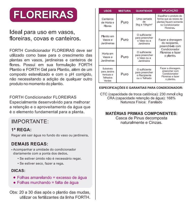 FORTH Condicionador para Floreiras - 5kg