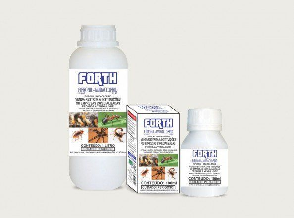 FORTH Fipronil + Imida - 100ml concentrado - Linha Defensores