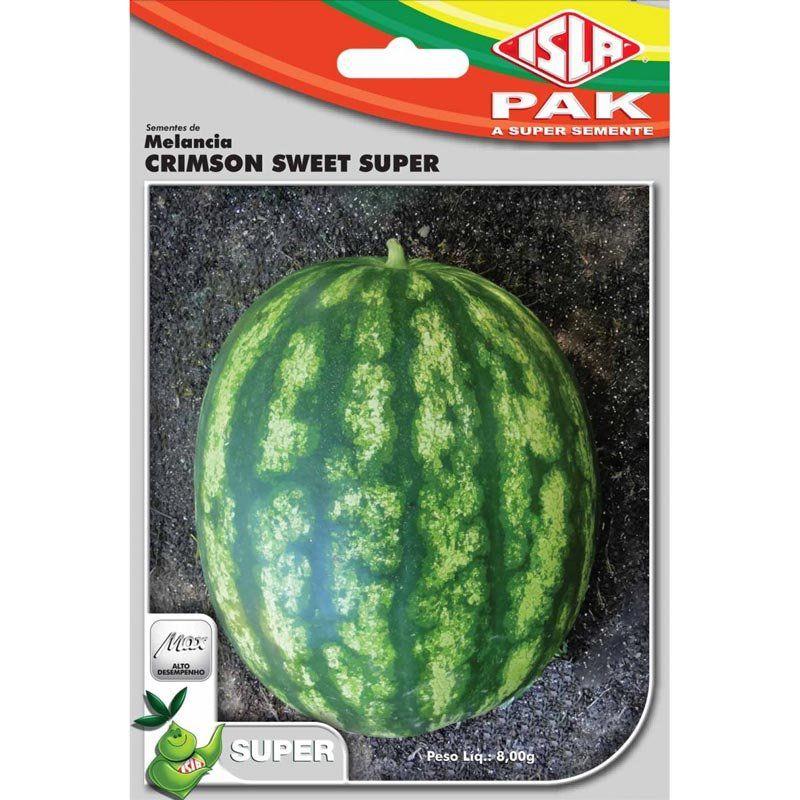 Sementes de Melancia Crimson Sweet Super (Isla Superpak)