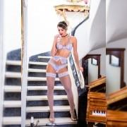 Conjunto Luxo Fantasia Cinderela - Garota Veneno