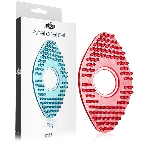 Anel Peniano Oriental Grande em silicone - Vermelho  - Sex Shop Cuiaba - Sexshop - Sexyshop - Produtos Eróticos
