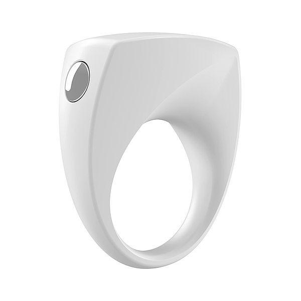 Anel Peniano Com Vibrador B6 - White - Ovo Lifestyle