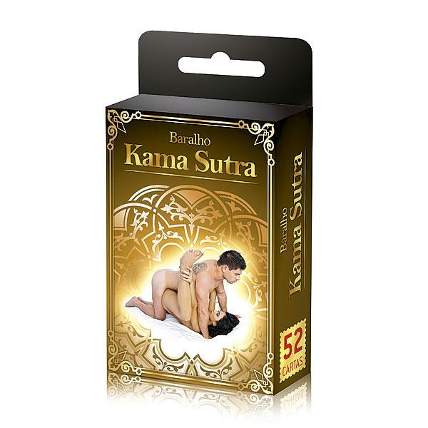 Baralho kama Sutra com 52 posições para o seu prazer
