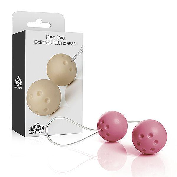 Conjunto 2 Bolas Ben Wa para pompoarismo - Rosa