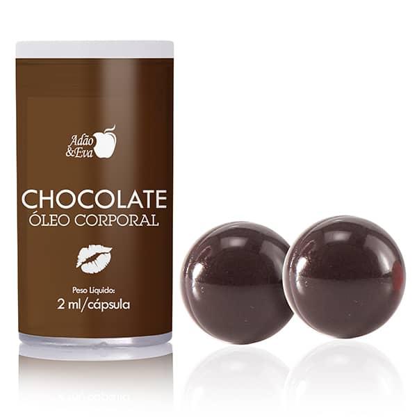 Bolinha Explosiva Beijável de Chocolate c/ 02 unidades