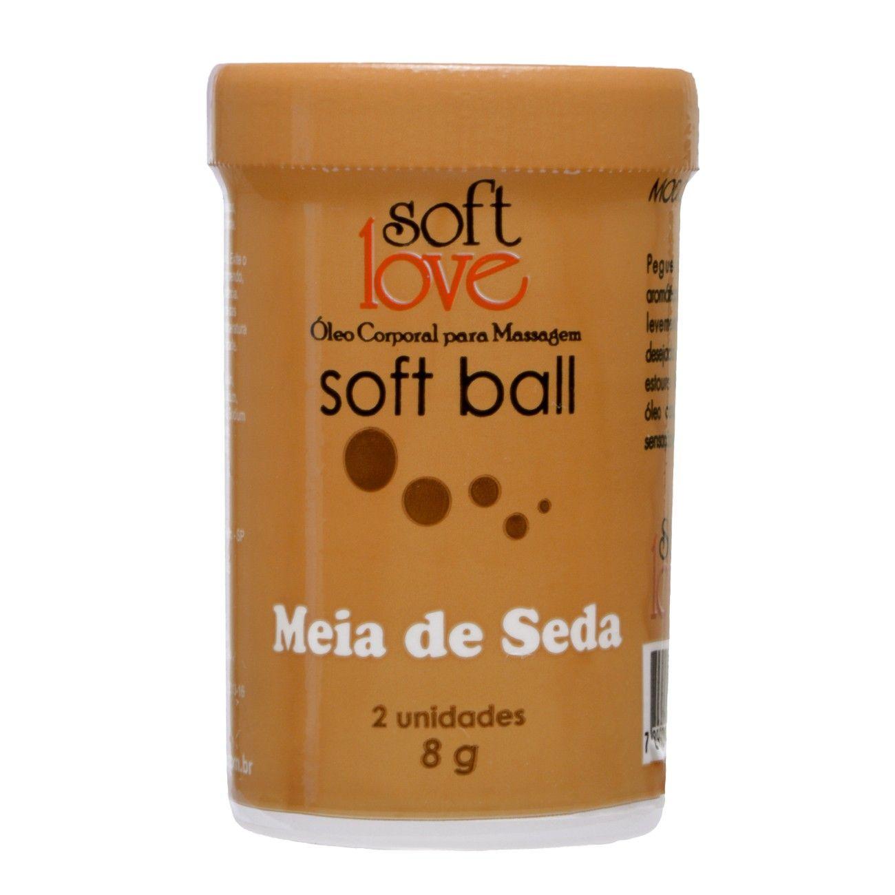 Bolinha Explosiva Beijável Soft Ball Meia de Seda