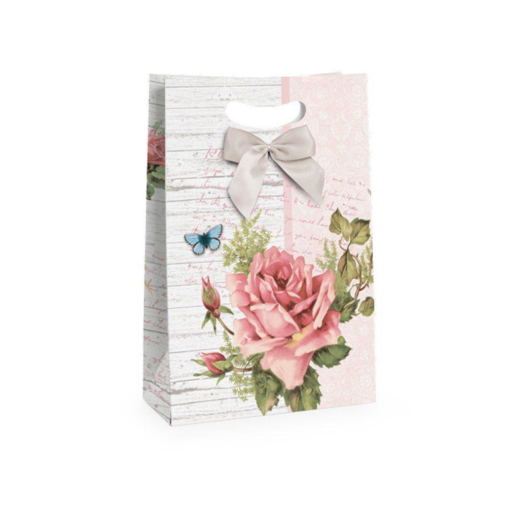 Caixa Flex Perfume da Manhã para presente P 18x7,5x25