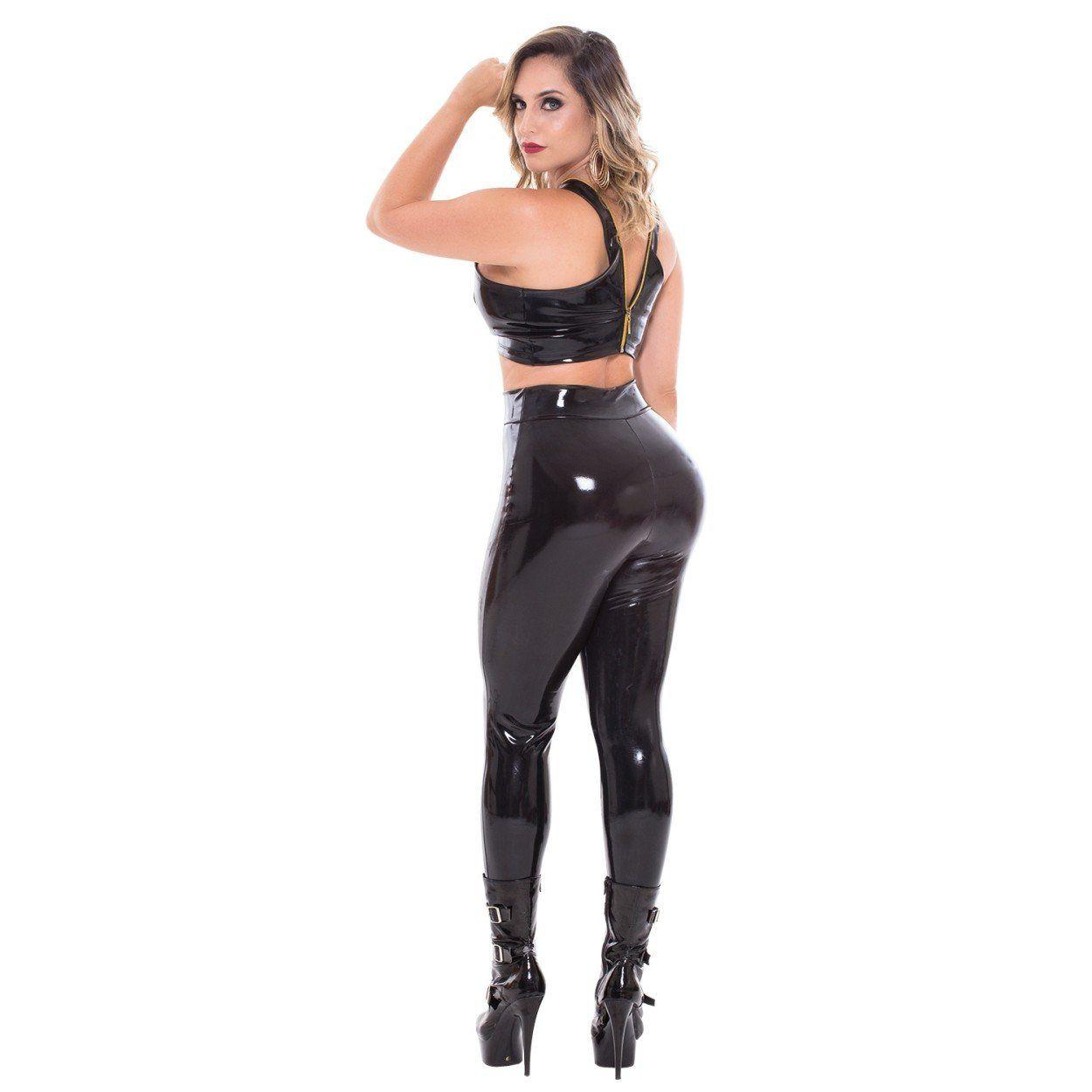 Calça Fatale Feita em Látex - Sapeka  - Sex Shop Cuiaba - Sexshop - Sexyshop - Produtos Eróticos
