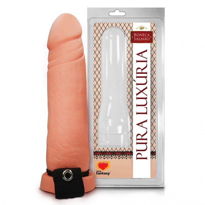 Capa Peniana Com Cinta Elástica 17cm - Sexy Fantasy  - Sex Shop Cuiaba - Sexshop - Sexyshop - Produtos Eróticos