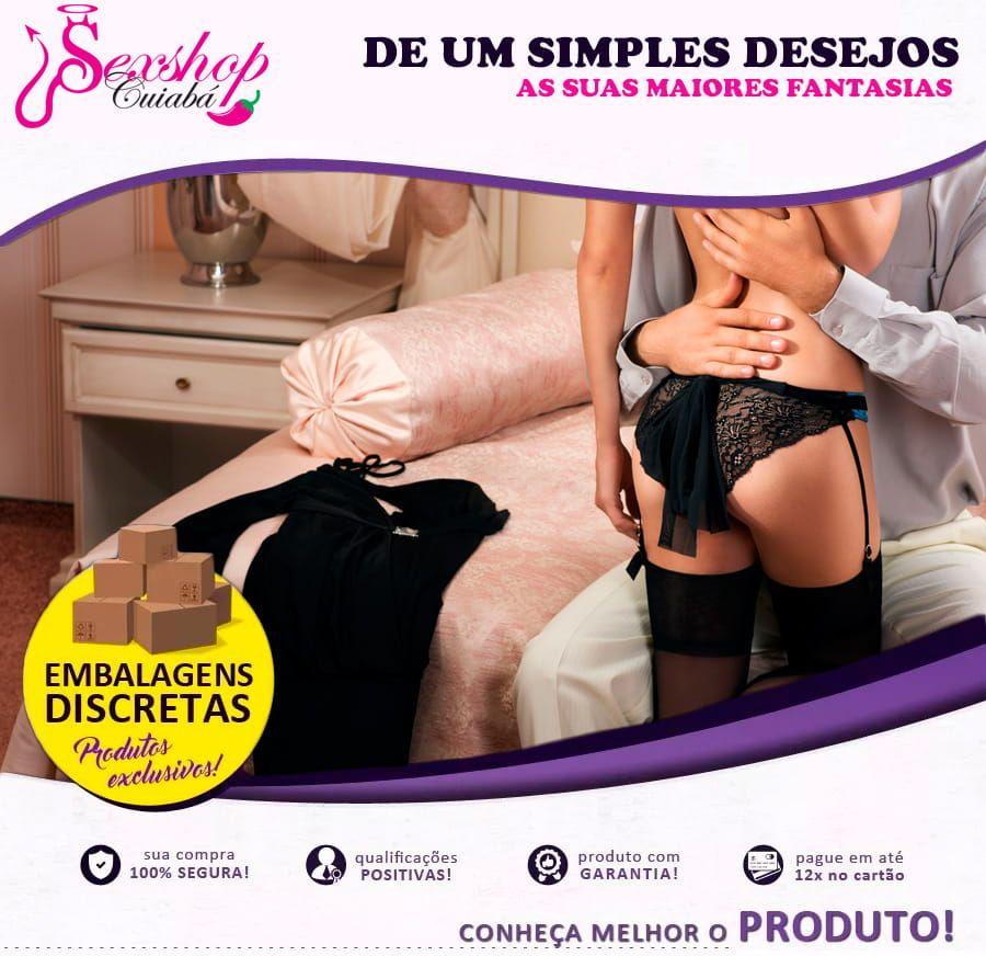 Cinta Peniana Dupla Em Couro Sintético Com Pênis Realístico  - Sex Shop Cuiaba - Sexshop - Sexyshop - Produtos Eróticos