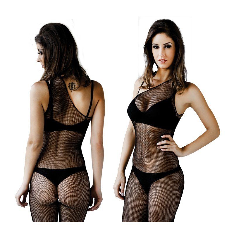 Body Leg Le Cher Coup Stripé - Sexy Fantasy
