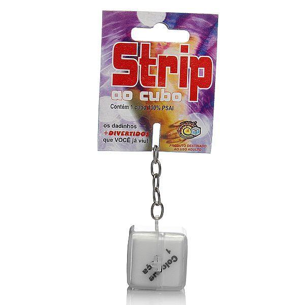 Dado - Strip ao cubo Chaveiro