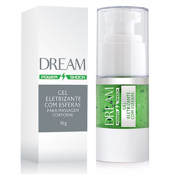 Gel Eletrizante Com Esferas Dream Power Shock 19g