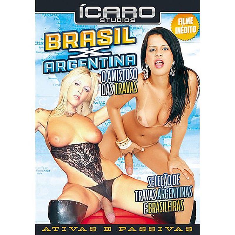 DVD - BRASIL X ARGENTINA - O AMISTOSO DAS TRAVAS