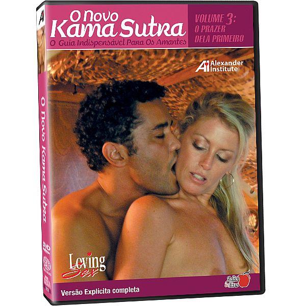 Dvd - O Novo Kama Sutra O Guia Indispensável Para Os Amantes Loving Sex - Adão e Eva