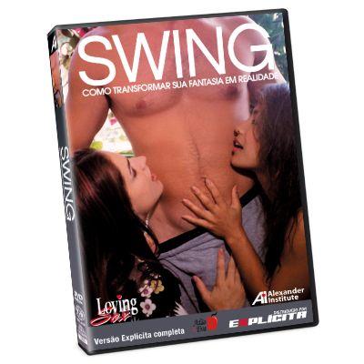 DVD - Swing Como Transformar sua Fantasia em Realidade LOVING SEX - Adão e Eva