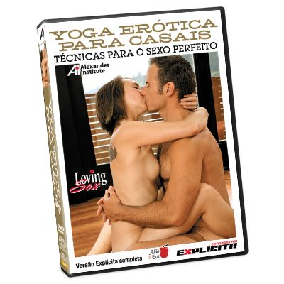 DVD Yoga Erótica para Casais Loving Sex - Adão e Eva