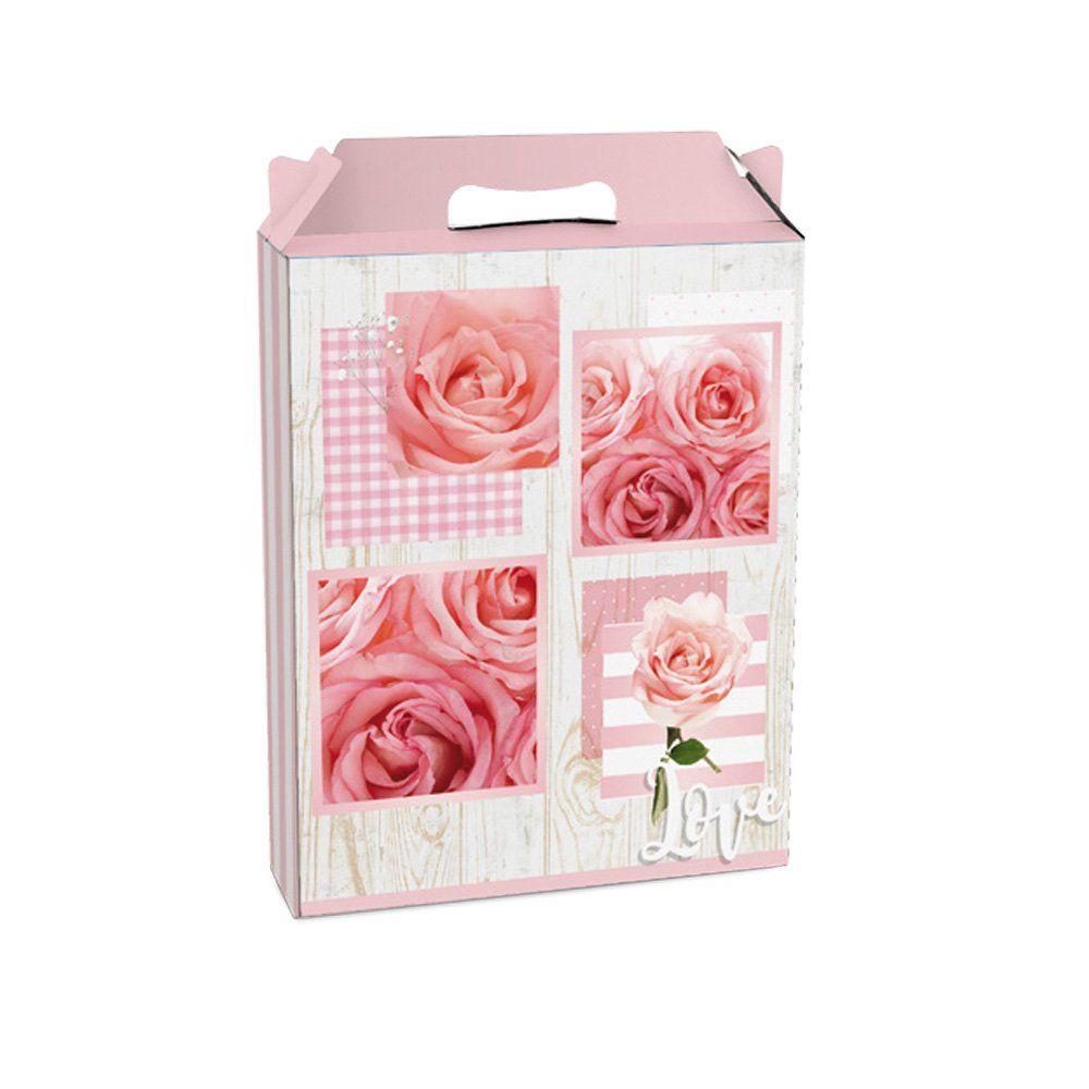 Embalagem para presente caixa maleta Júlia G 21x7,5x26