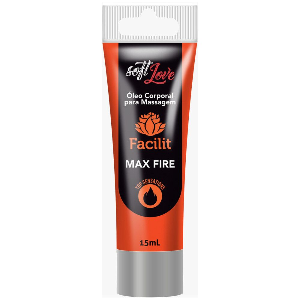 Facilit Max Fire Gel Anestésico Anal 15ml - Soft Love