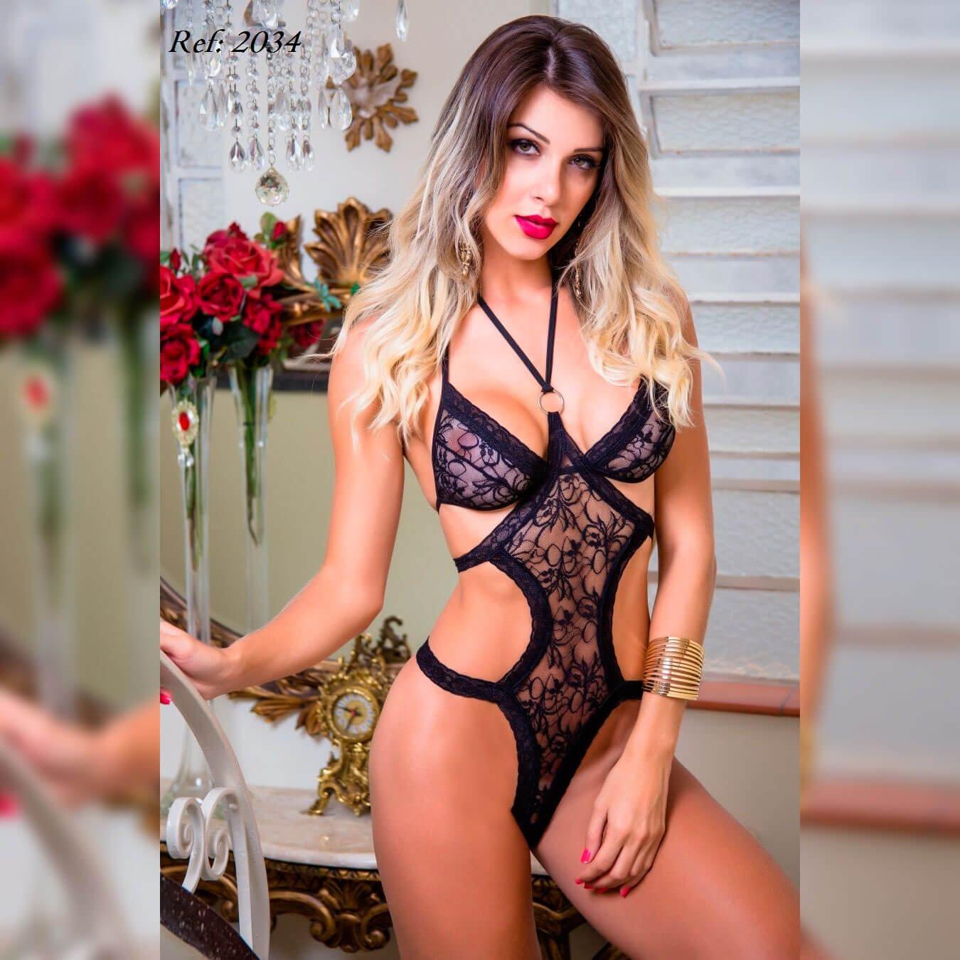 Fantasia body pantera sensual - Garota veneno