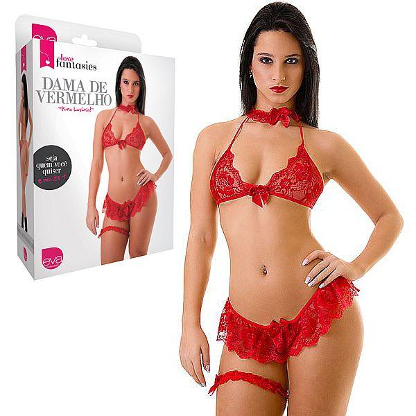 Fantasia Dama De Vermelho - Love Fantasies