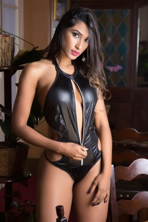 Fantasia erótica Body Gladiadora Sensual - Garota Veneno