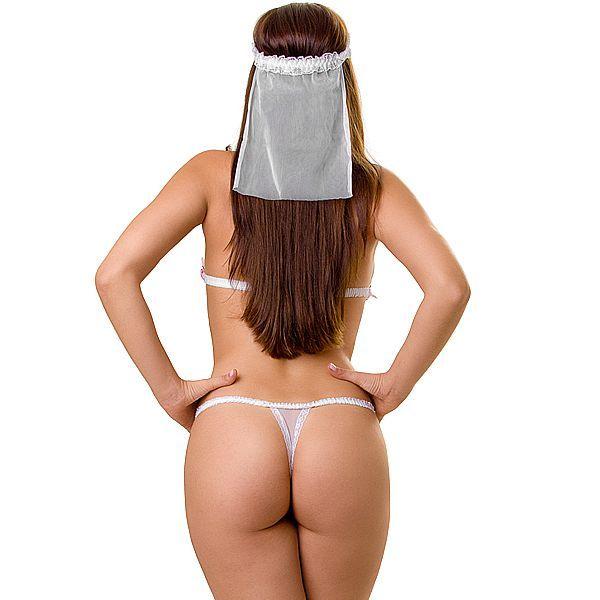 Fantasia Erótica de Noiva - PlayGirl  - Sex Shop Cuiaba - Sexshop - Sexyshop - Produtos Eróticos