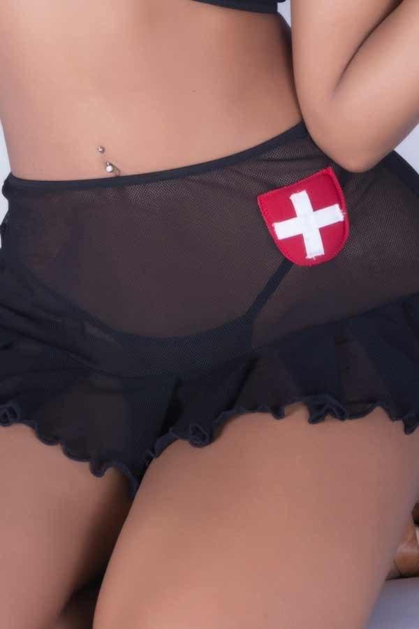 Fantasia erótica Médica / Enfermeira Sexy  - Sex Shop Cuiaba - Sexshop - Sexyshop - Produtos Eróticos