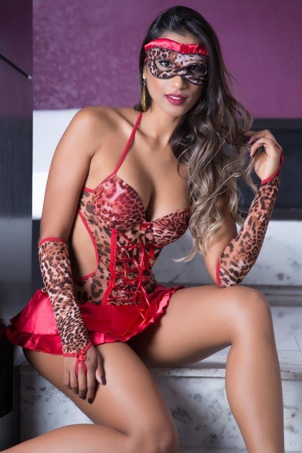 Fantasia erótica Penélope - Garota Veneno  - Sex Shop Cuiaba - Sexshop - Sexyshop - Produtos Eróticos