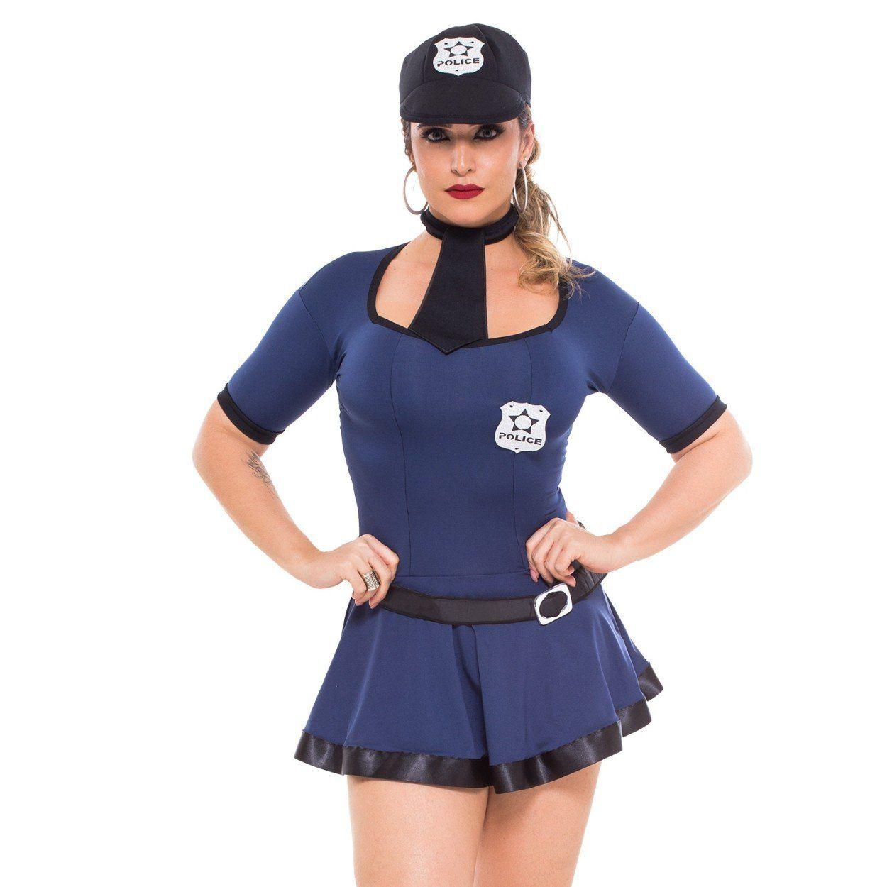 Fantasia feminina Policial Violeta