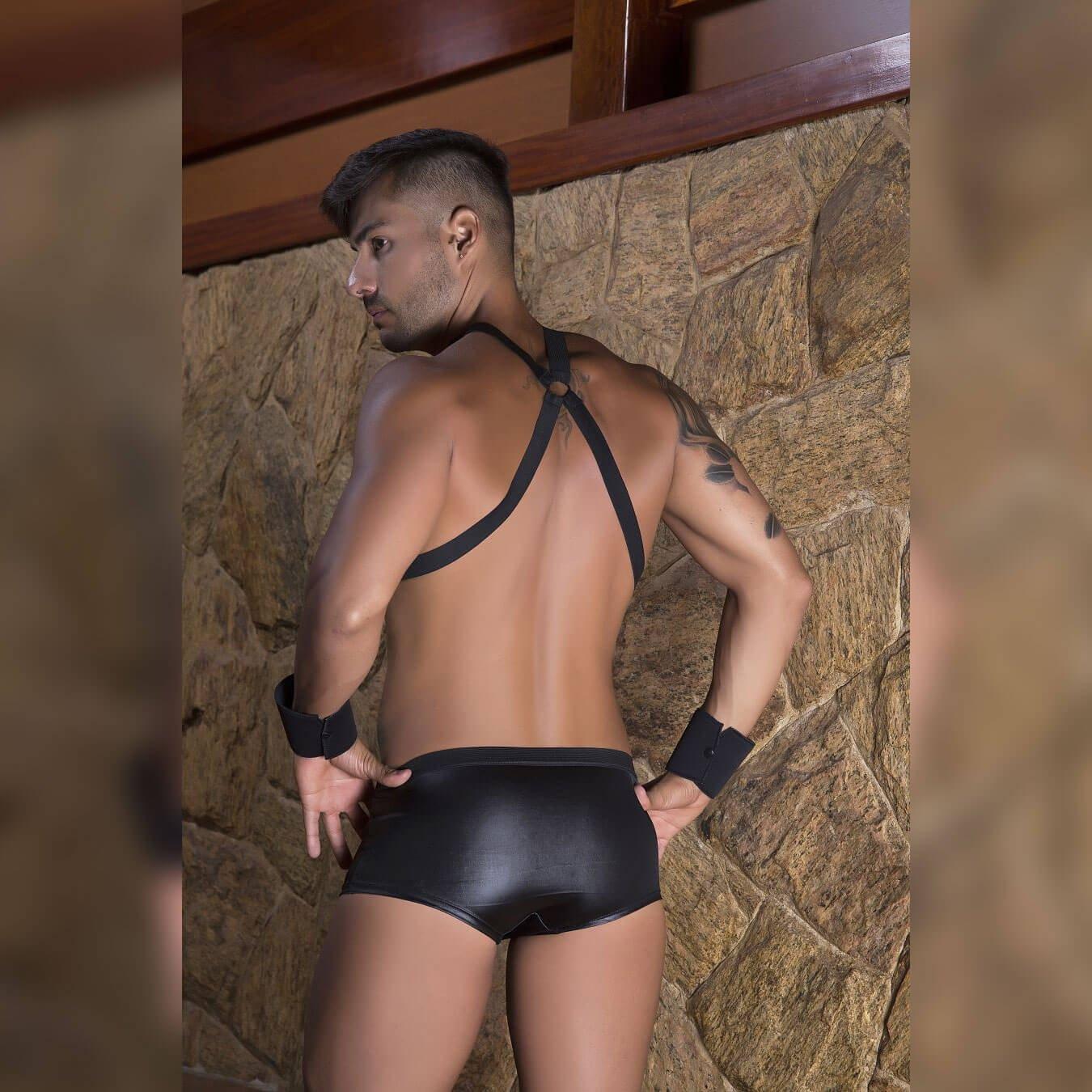 Fantasia Masculina de segurança - Garota veneno  - Sex Shop Cuiaba - Sexshop - Sexyshop - Produtos Eróticos