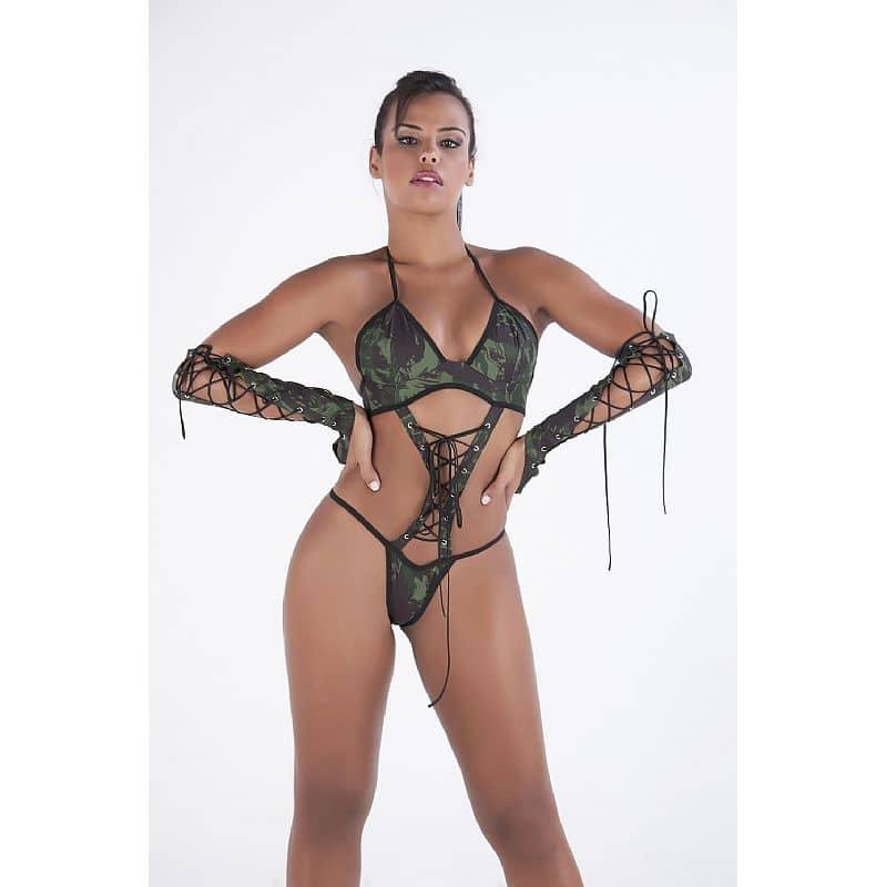 Fantasia Erótica Militar Body