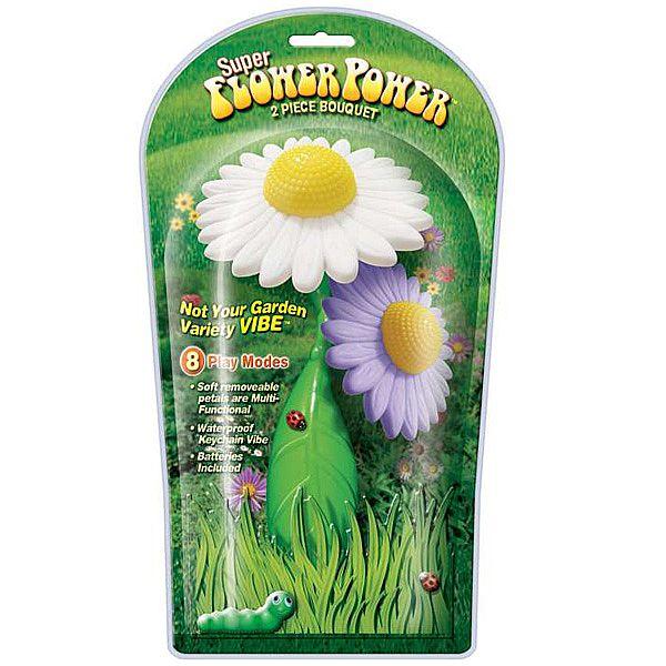 Vibrador Super Flower Power Flores