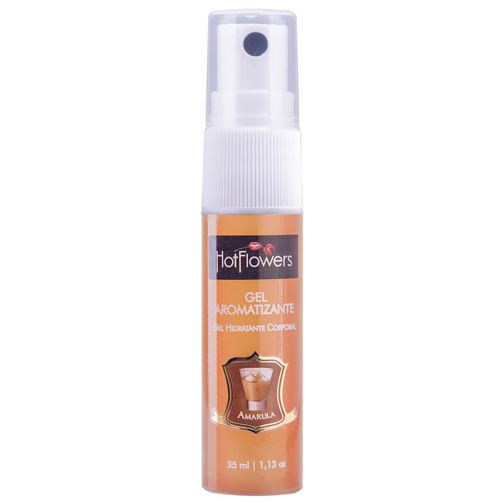 Gel Aromatizante Comestível Amarula Hot 35ml - Hot Flowers
