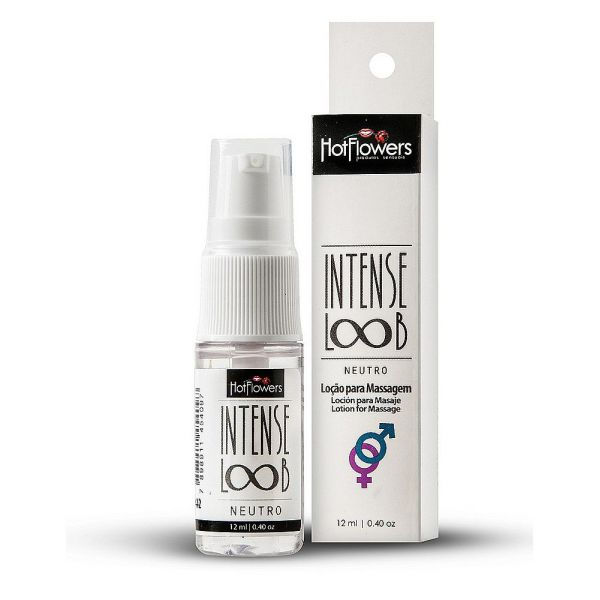 Lubrificante De Alta Performance - Intense Loob 12ml - Hot Flowers