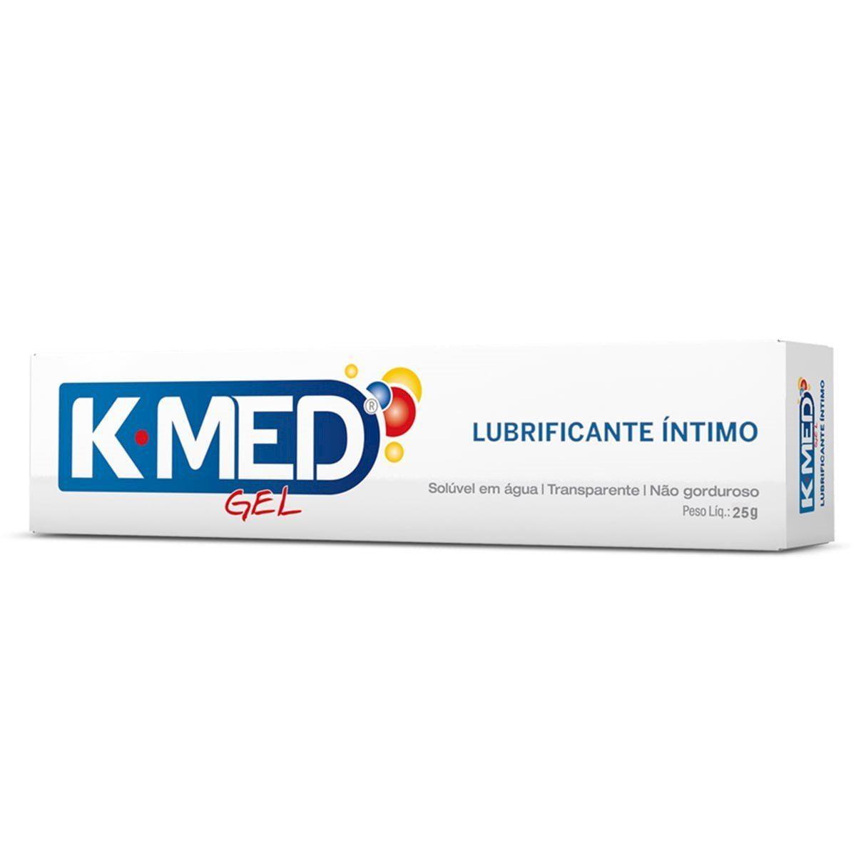 Gel Lubrificante Íntimo 25g K-MED