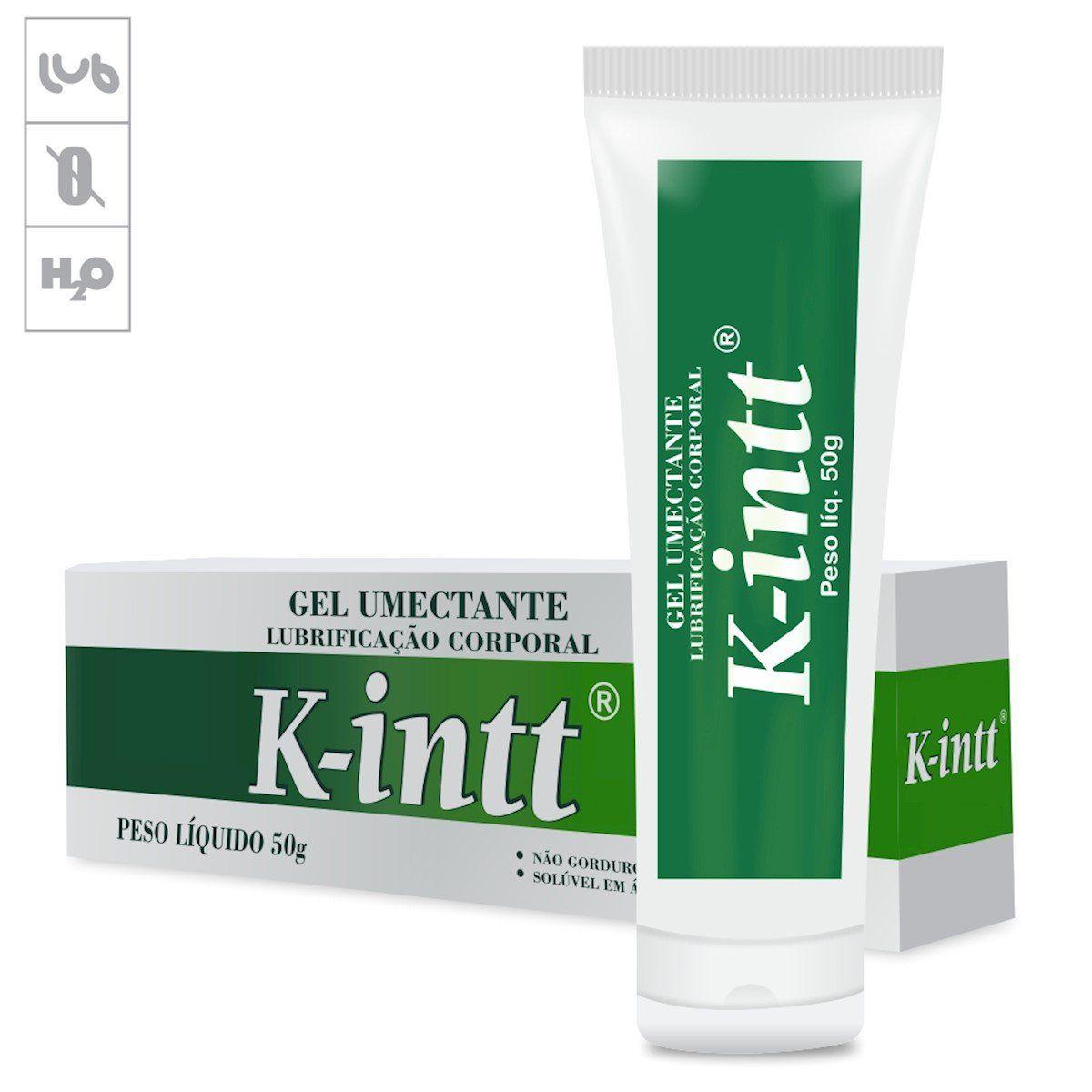 Gel Lubrificante Íntimo K-Intt - 50g