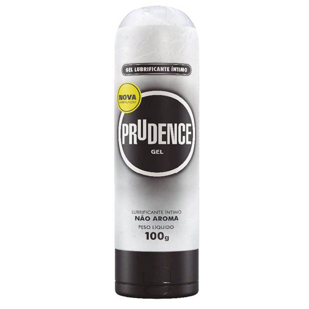 Gel Lubrificante Íntimo Não Aroma 100g Prudence