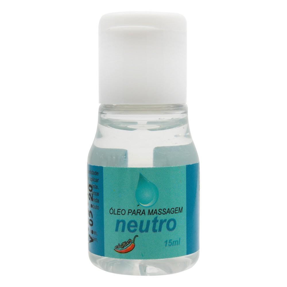 Gel Lubrificante Íntimo Neutro 15ml - Chillies  - Sex Shop Cuiaba - Sexshop - Sexyshop - Produtos Eróticos